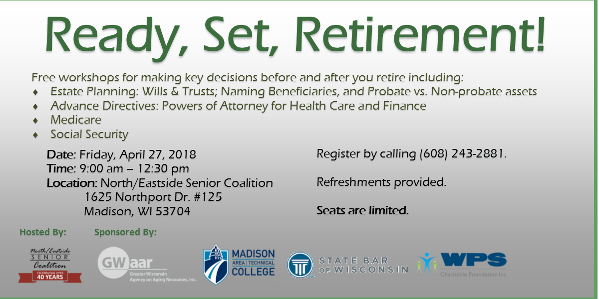 GWAAR Retirement Clinic Apr. 2018 - website